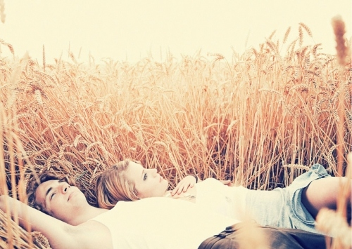 boyfriend, couple, cuddling, field, girlfriend, laying, light, love, peaceful, photography, romantic, romantik, soft, First Set on Favim.com