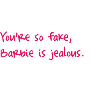barbie, blogs, clever, cool, fake, fake bitch