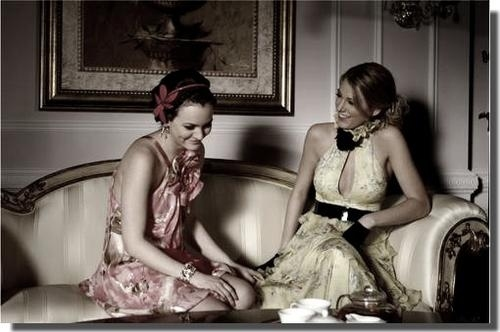 blair waldorf, blake, blake lively, dress, fashion, gg leighton