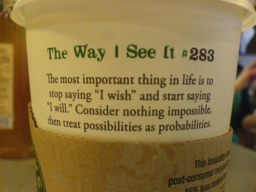 citat, coffee, drinking, inspiration, message, messages, photo, photographs, photos, quotes, starbucks, text, the way i see it, words