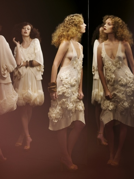abito, bianco, delicate, dress, effortless, fashion, flowers, fotografia di moda, my favorite, photography, ruffles, serge leblon, sonia rykiel, white