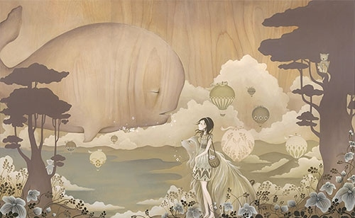 amy sol, art, dream, girl, illustration, illustrations