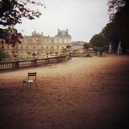 Architecture chair chaise france garden house image - Chaise jardin du luxembourg ...