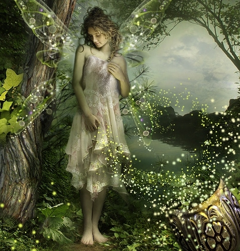 ethereal, faeries, fairy, fireflies, graphic, magic, magical