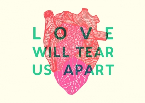 heart, love, love will tear us apart, lyrics, music, song