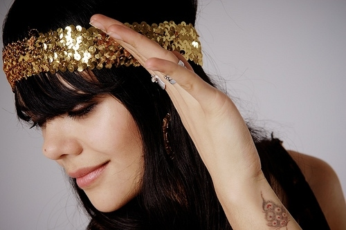 bat for lashes, glitter, happy, music, natasha khan, sequins