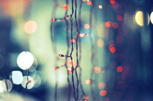 blue, bokeh, chilly, christmas, christmas lights, flare