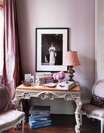 arredamento, casa, colors:lavender, colors:purple, curtains, decor