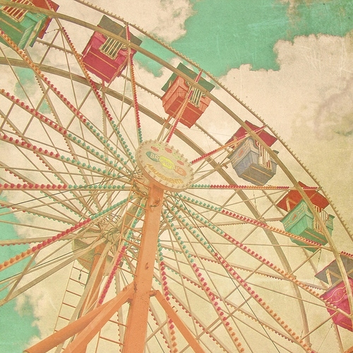 carnival, colores, colors, fair, ferris wheel, park