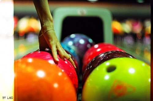 blue, bowling, bright, bright colors, lomography, many colors, orange, pink, purple, red, separate with comma