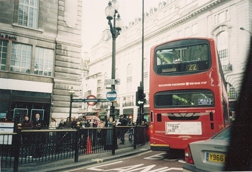 bus, england, lomography, london, places, red