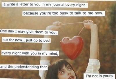 cyul8r, heart, postsecret, text, touching, unrequited love