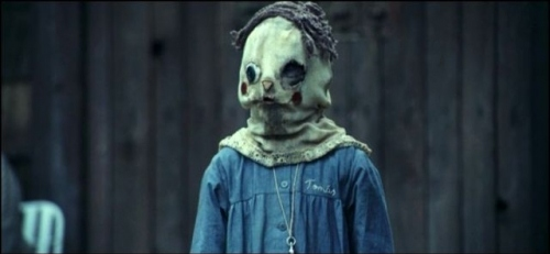 child, creepy, el orfanato, film stills, mask