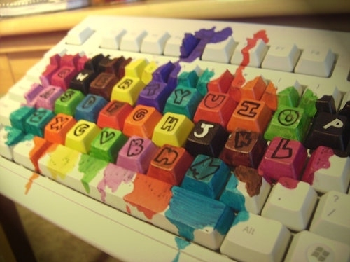 colorful, colorido teclado, colors, keyboard, many colors, rainbow blood, text