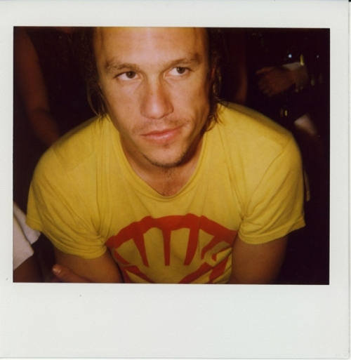 boy, celebrities polaroid, heath, heath ledger, heath ledger polaroid, ledger