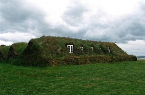 architecture, grass, green, house, iceland, ireland