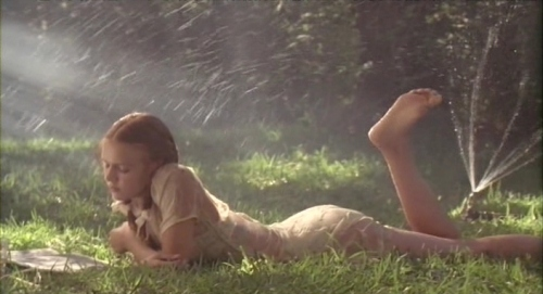??????23, dominique swain, field, film, girl, lolita, movie scene, wet