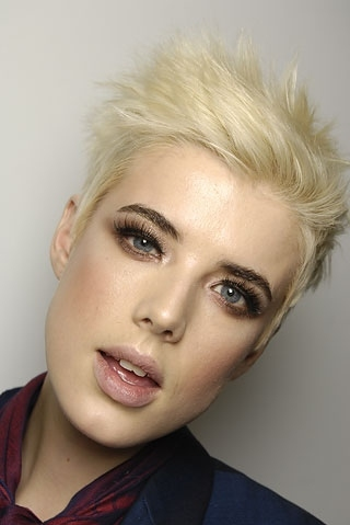 agyness deyn, beauty, fashion, girl, makeup, model