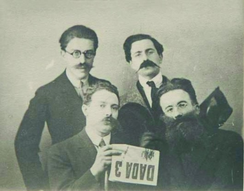 1920s, breton, dada, gentlemen, man ray, photography, surrealism, surrealist, vintage