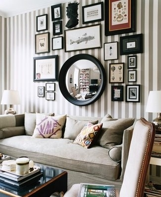 black and white, decor, frames, home, interior design, sitting room