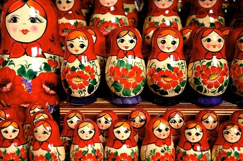babooshka, family, nesting dolls, photo, photography, russia