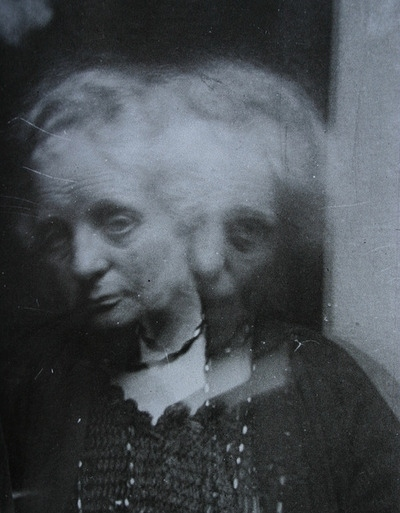 1922, ada deane, black and white, double exposure, paranormal, photography, spirit photographer, vintage, woman
