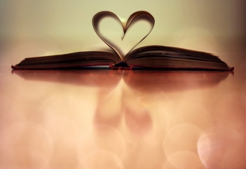 book, books, dream, heart, love, pages, romantic