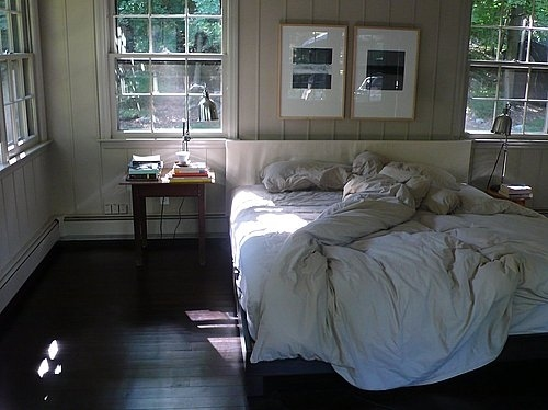 bed, bedroom, interior, room, rooms, window