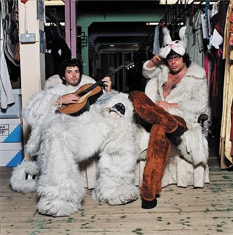 animal costumes, brett mckenzie, costumes, flight of the conchords, furries, guitar