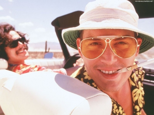 fear and loathing in las vegas, hunter s. thompson, johnny depp, movies, thompson