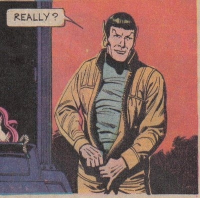 comic, comic books, illustration, really, spock, star trek