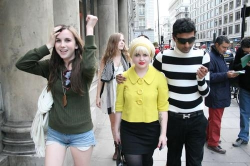 boy, friends, girls, kelly osbourne, street