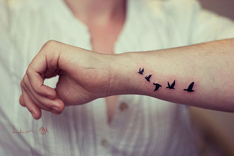 bird, birds, flying, free, lovely, tattoo