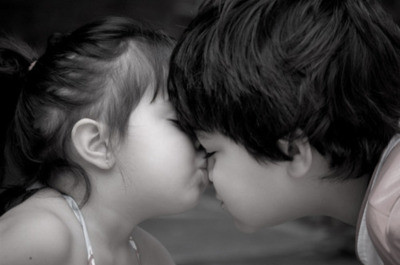 candle, child, couple, cute, kiss, kisss