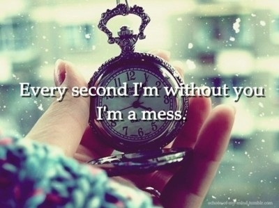 clock, hell yea, love, mess, quote, quotes, the used, time, vintage