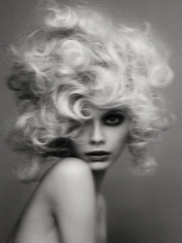 beautiful, beauty, big hair, blonde, blurred, eyes, face, fashion, girl, grlz, hair, haunting, hidden, photo, portrait