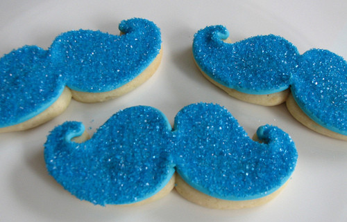 biscuits, blue, cookie, cookies, food, moustache