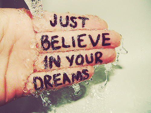advice, believe, cute, dream, dreams, fingers