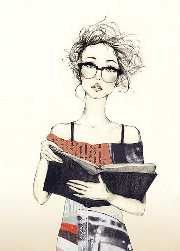 art, book, bookworm love., collage, cute, dibuix