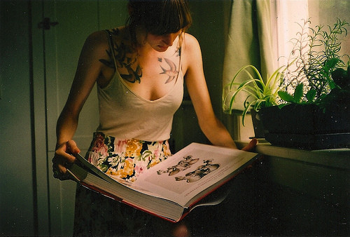 book, girl, human, reading, super like, tatto