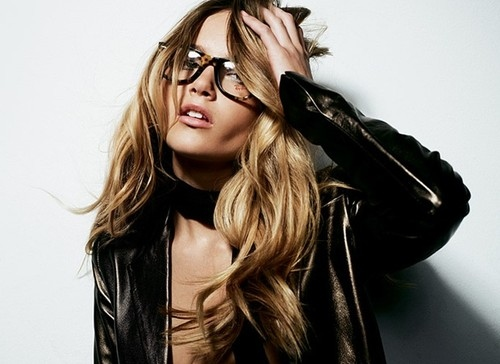 beauty, blond, cool, fashion, girl, glasses, i love your glasses, inspiration, jacket, leather, photography, photos, sexy, woman