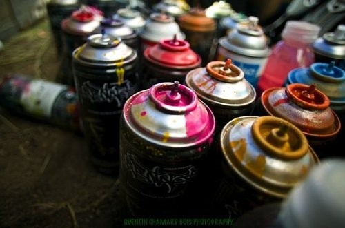 art, colors, colours, cute, graffiti, ink, paint, photography, spray