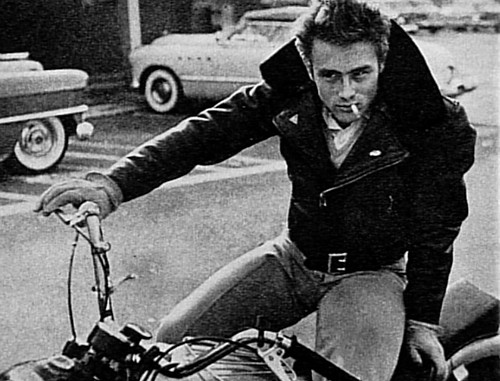 bike, boy, dean, guy, interesting, james dean