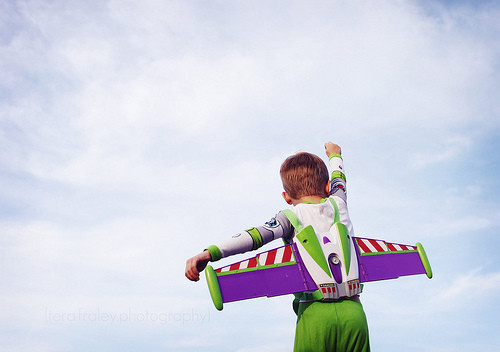adorable, awwe, blue, boy, buzz, buzz lightyear, child, childhood, clouds, color, composition, cool, cute, fly, fun, funny, happy, infinity, inspiration, kid, movie, people, photography, sky, toy, toy story
