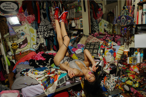 chaos, colorful, fashion, female, girl, legs