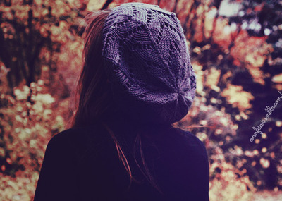 back, black, blue, fashion, girl, hair, nature, orange, photo, photography, sweater, trees