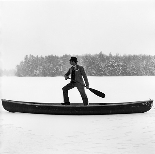 boat, ffffound, lake, man, photography, portrait