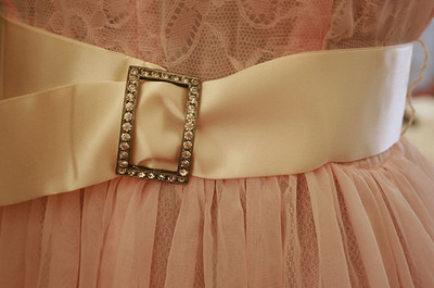 belt, dress, fashion, lace, pink, rhinestone