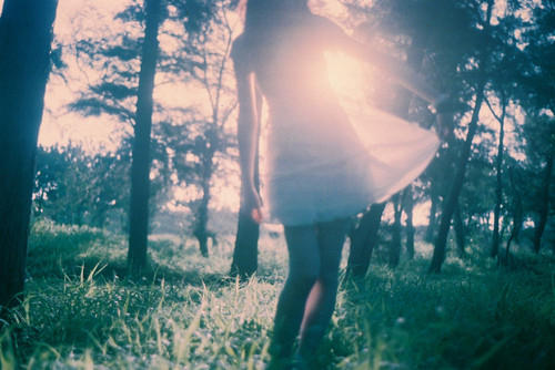 campo vestido, cool, dress, forest, girl, girl meets dream