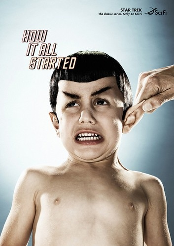 add, advert, advertising, fun, funny, humor, media, spock, star trek